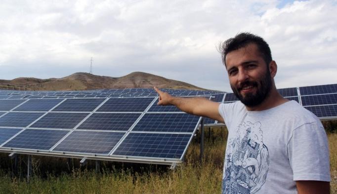 Mini Güneş santraliyle elektrik satmaya başladı