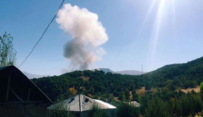 İHA tespit etti, Şemdinli'de 5 terörist öldürüldü