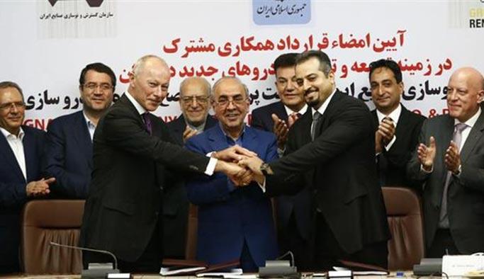 İran ile Fransız otomotiv devi arasında büyük anlaşma