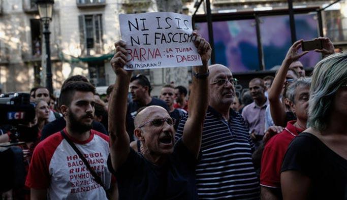 İspanya'da DEAŞ saldırısından sonra sağ-sol gerilimi