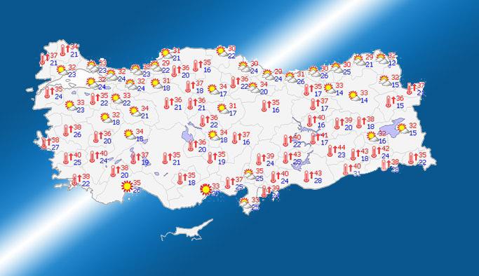 İstanbul'a beklenen serin havalar geliyor