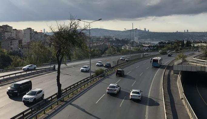 İstanbul'da tatil sakinliği, trafikten eser kalmadı