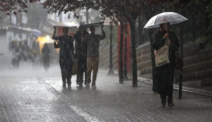 İstanbul için peş peşe yağış uyarısı