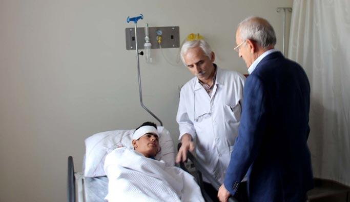 Kılıçdaroğlu yaralı öğrencinin okul masraflarını üstlendi
