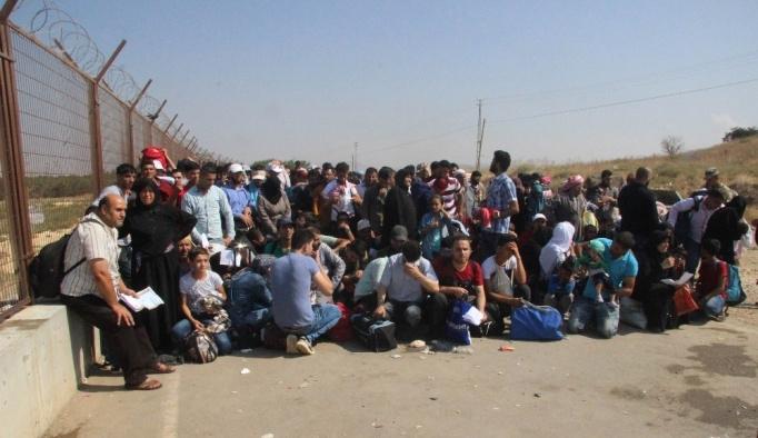 Bayram için giden Suriyeli sayısı 50 bini geçti