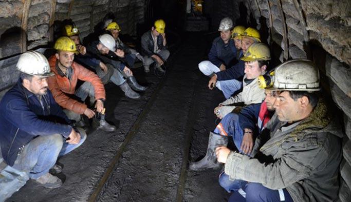 Madencilerin çalışma saatlerine sınırlama
