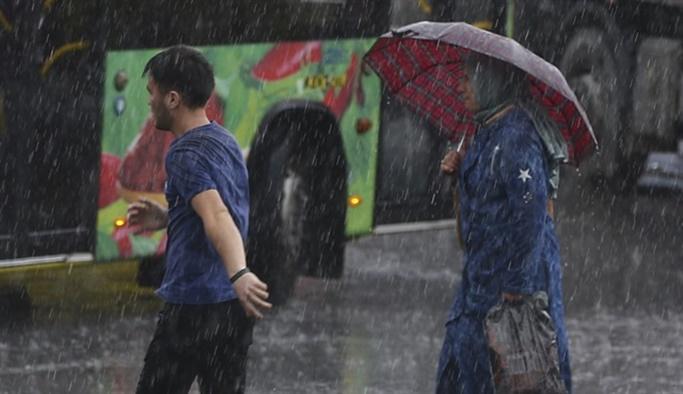 Meteorolojiden 6 ile kuvvetli yağış uyarısı