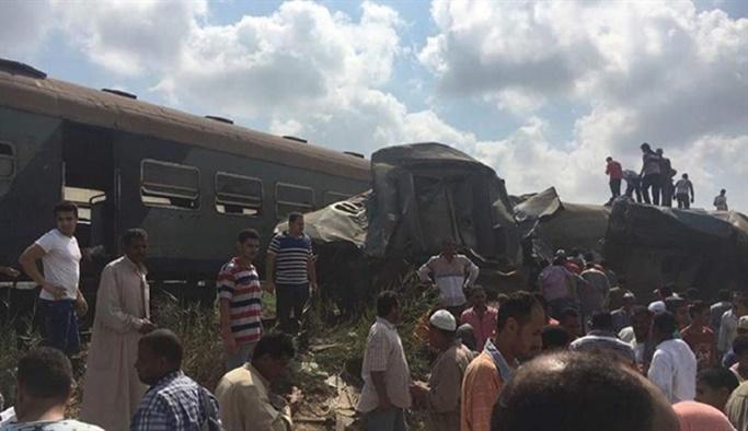 Mısır'da tren kazası: 36 ölü