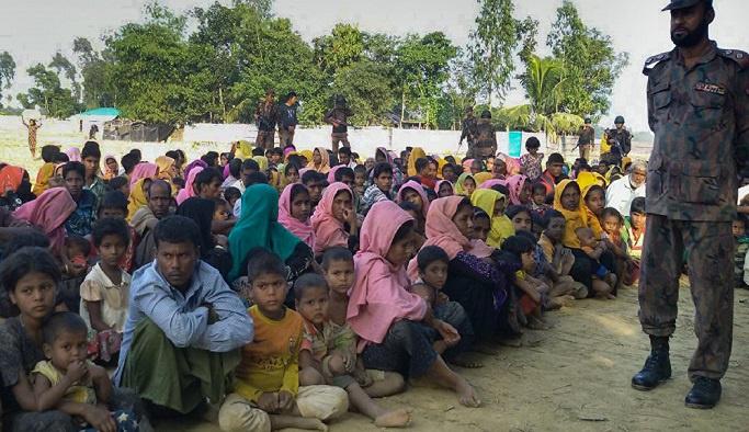 'Myanmar, Arakanlı Müslümanlara yönelik şiddetin suç ortağı'
