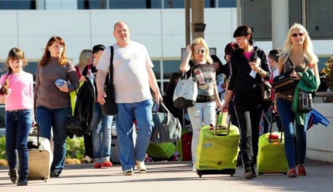 Rus turistler alışverişlerini yüzde 403 artırdı