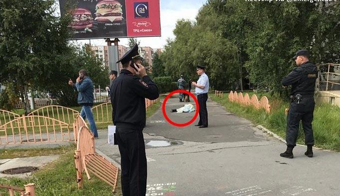 Rusya'da bıçaklı saldırı, en az 8 yaralı var