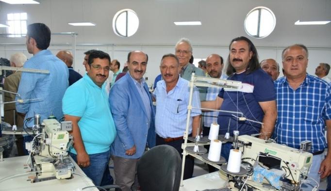 Tatvan'da tekstil atölyesi açıldı