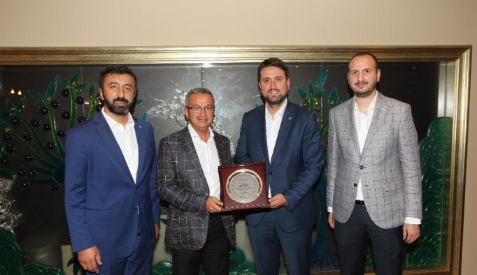TÜGVA'dan Başkan Köşker'e ziyaret