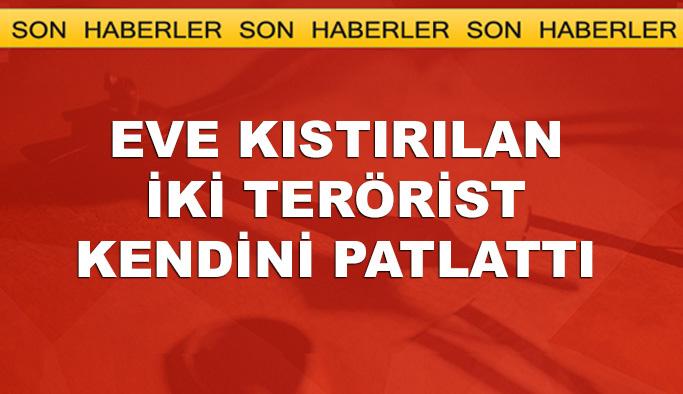 Tunceli'de köşeye sıkışan teröristler kendini patlattı
