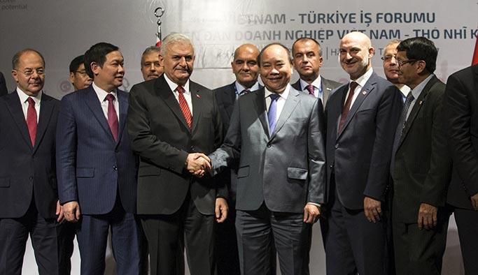 Türkiye ile Vietnam arasında 3 anlaşma