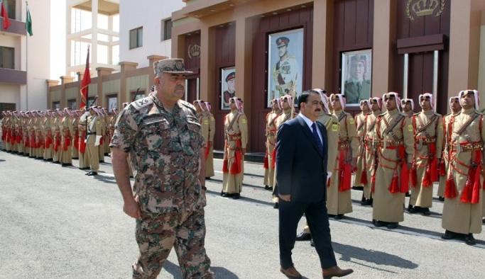 Ürdün Genelkurmay Başkanı, Irak Savunma Bakanını kabul etti