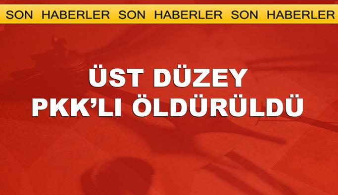 Van'da üst PKK'lı terörist öldürüldü