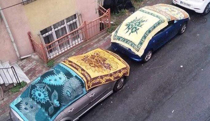 Yağış geliyor denilince İstanbullular