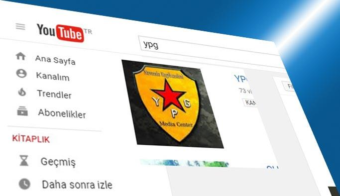 Youtube YPG'nin hesabını kapattı