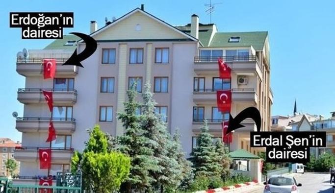 Adil Öksüz'ün bacanağı Erdoğan'ın oturduğu apartmana yerleştirilmiş
