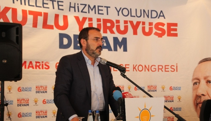 AK Parti Genel Başkan Yardımcısı Ünal Marmaris'te partililere seslendi