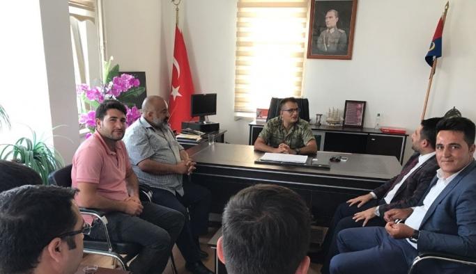 AK Parti heyetinden Albay Cice'ye ziyaret