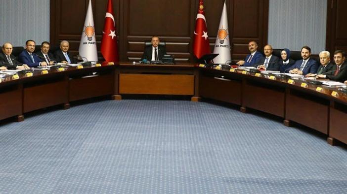 AK Parti MYK Cumhurbaşkanı Erdoğan başkanlığında toplandı