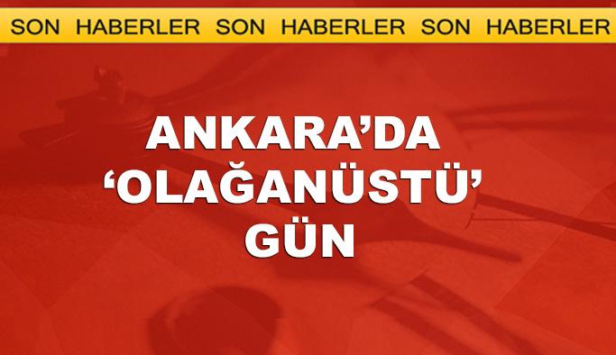 Ankara'da hareketli gün, iki kritik toplantı var
