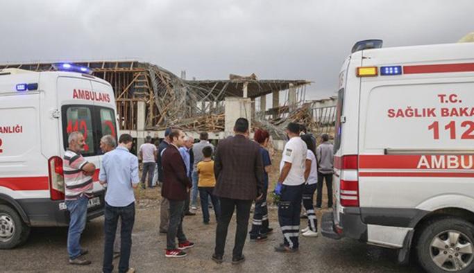 Ankara'da inşaatta göçük: 1 ölü, 1 yaralı