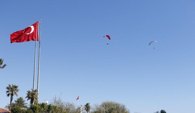 Antalya'da yamaç paraşütü ve paramotor hava araçlarına sınırlama getirildi
