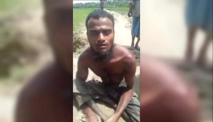 18 gün sürünerek Bangladeş'e ulaştı