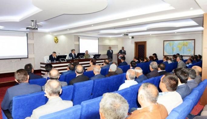 Ardahan'da okul ve öğrenci güvenliği toplantısı yapıldı