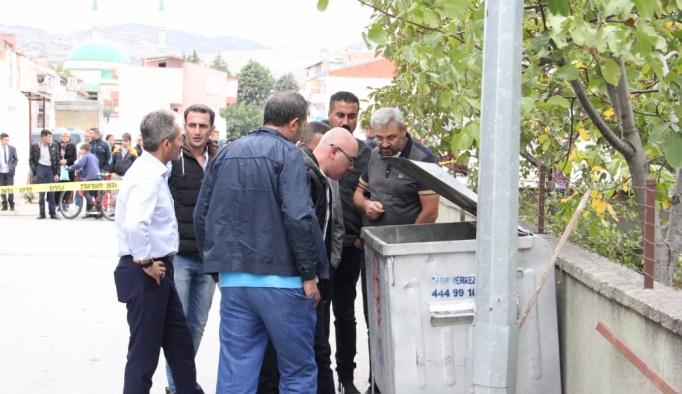 Balıkesir'de çöp konteynerinde bebek cesedi bulundu