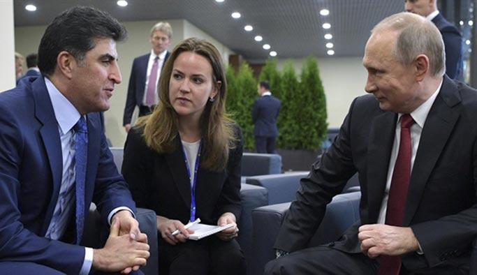 Barzani'ye bir şok da Rusya'dan