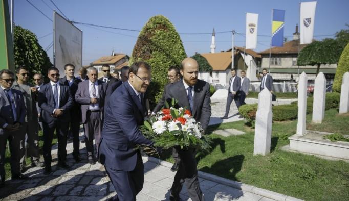 Başbakan Yardımcısı Çavuşoğlu Bosna Hersek'te