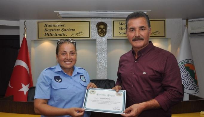 Başkan Tuna'dan zabıta personeline kutlama