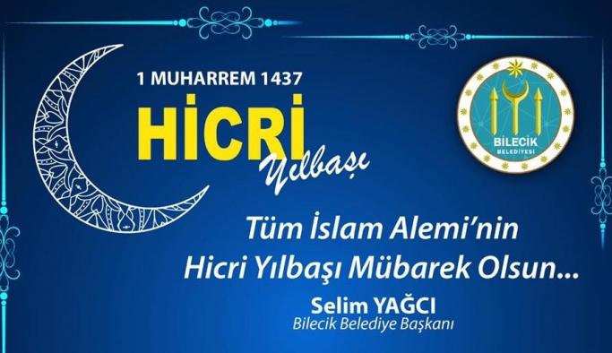 Başkan Yağcı'nın 'Hicri Yılbaşı' mesajı