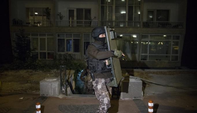 Başkentte Vezneciler'deki terör saldırısına ilişkin operasyon