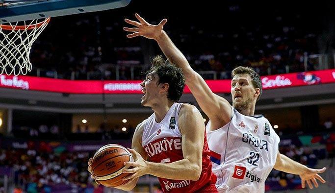 Basketbol Milli Takımı Sırbistan'a yenildi