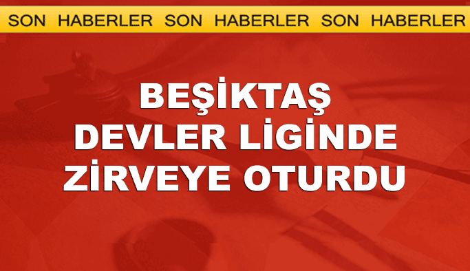 Beşiktaş Avrupa'da yenilmezliğe doğru
