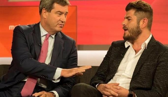Alman Televizyonunda 5 kişiyi susturan Türk'e ölüm tehdidi