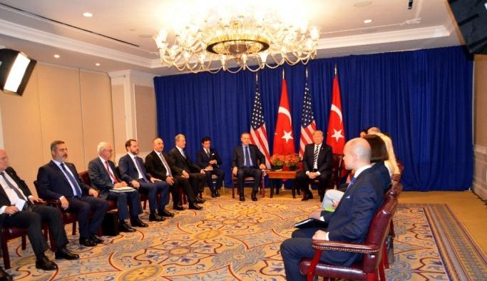 Erdoğan ile Trump görüşmesinde öne çıkan konular