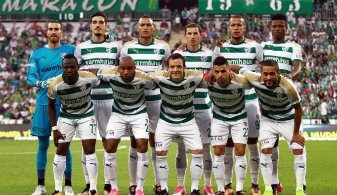 Bursaspor transfer döneminde 8 oyuncuyu kadrosuna kattı