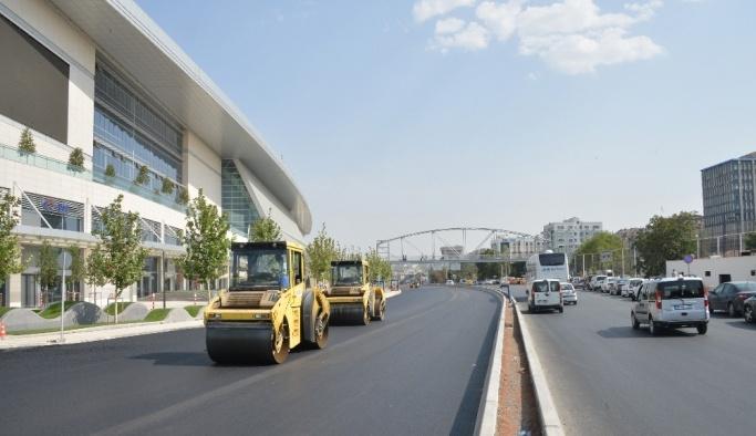 Celal Bayar'daki asfalt çalışmaları tamamlandı