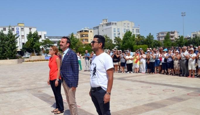 CHP Didim İlçe Örgütü, 94. yıl dönümü törenle kutladı