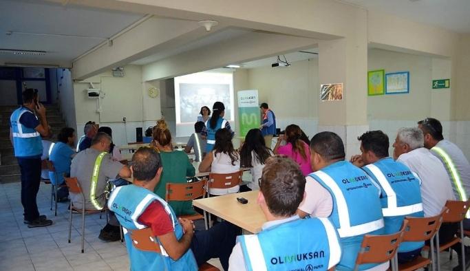 Çorlu'da afet bilinci eğitimi
