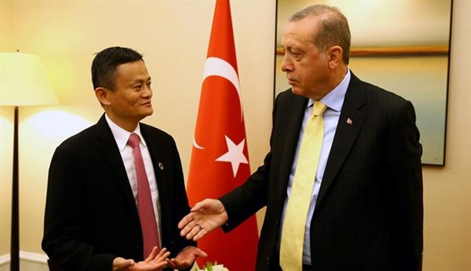Cumhurbaşkanı Erdoğan Alibaba'nın kurucusunu kabul etti