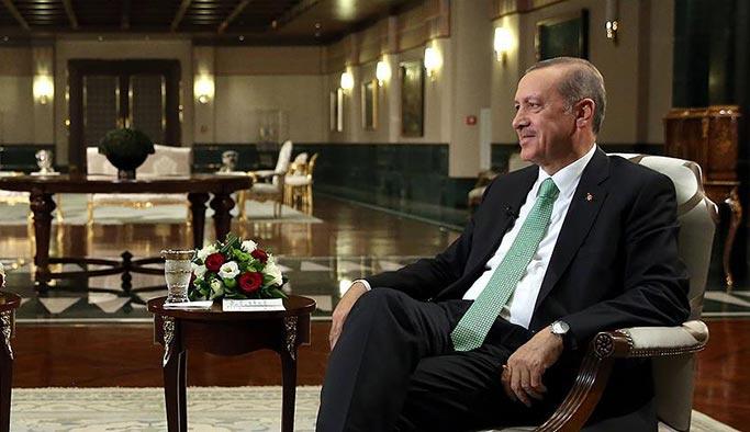 Cumhurbaşkanı Erdoğan'dan Reuters'a önemli açıklamalar
