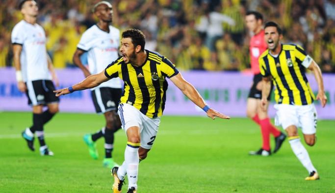 Derbinin galibi Fenerbahçe oldu