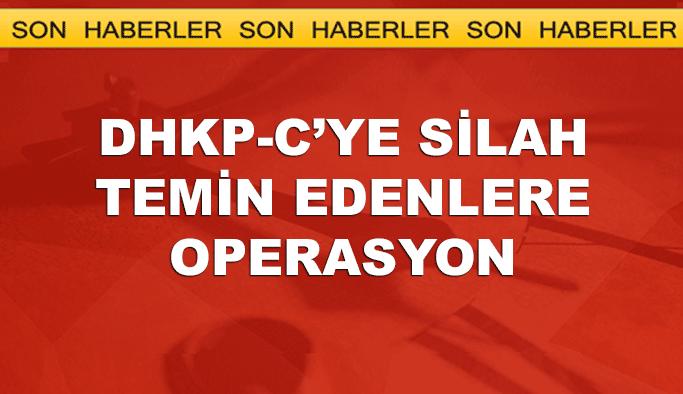 DHKP-C'ye silah temin eden 110 kişi hakkında gözaltı kararı
